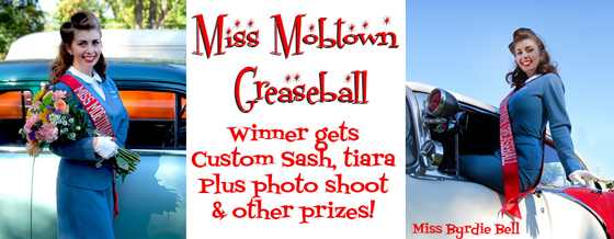 Miss Mobtown Greaseball winner gets custom sash, tiara plus photo shoot